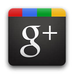 google plus black logo
