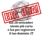 registrazione .it sincrono