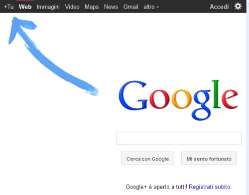 accesso a google plus
