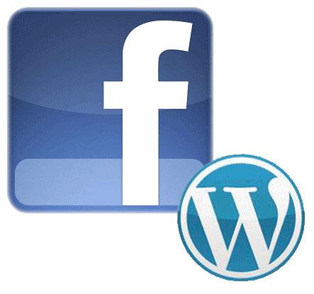facebook e wordpress